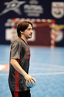 20191010 - HALLE: Benfica's Chaguinha is pictured after the UEFA Futsal Champions League Main Round match between Araz Naxcivan and SL Benfica on 10th October 2019 at De Bres Sportcomplex, Halle, Belgium. PHOTO SPORTPIX | SEVIL OKTEM