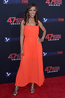 """LOS ANGELES - AUG 13:  Shaun Robinson at the """"47 Meters Down: Uncaged"""" Los Angeles Premiere at the Village Theater on August 13, 2019 in Westwood, CA"""