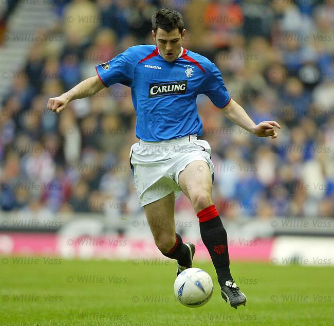 Steven Thompson, Rangers.Stock Season 2003-2004.pic willie vass