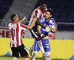 Barranquilla- Junior venció en la ronda de penales a Llaneros, en el partido correspondiente a la vuelta de los octavos de final de la copa , en el partido desarrollado el 17 de septiembre en el estadio Metropolitano.