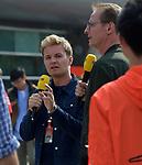 13.04.2019, Shanghai Audi International Circuit, Shanghai, 2019 FORMULA 1 HEINEKEN CHINESE GRAND PRIX<br /> im Bild<br />Nico Rosberg kommentiert mit Florian K&ouml;nig f&uuml;r RTL<br /> <br /><br /> <br /> Foto &copy; nordphoto / Bratic