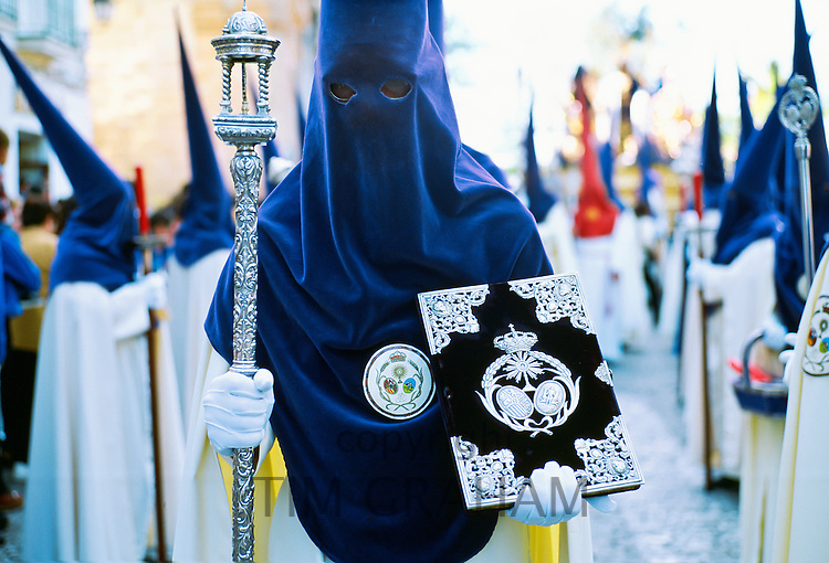 Semana Santa Holy Week in Cadiz, Spain