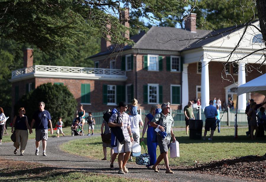 Constitution Day held at former president James Madison's Montpelier Estate in Orange, Va. Photo/Andrew Shurtleff