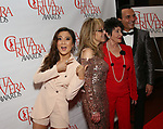 Ashley Park photo bombing Chita Rivera as she attends The 2018 Chita Rivera Awards at the NYU Skirball Center for the Performing Arts on May 20, 2018 in New York City.