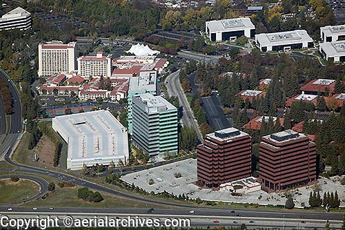 aerial photograph San Jose, San Clara county, California