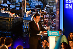 Spanish Prime Minister Mariano Rajoy during PP electoral act in Valencia. December 18, 2015. (ALTERPHOTOS/Javier Comos)