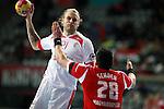 Mollgaard vs Schuch. DENMARK vs HUNGARY: 28-26 - Quarterfinal.