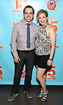 Rob McClure and Maggie Lakis attends the 'Avenue Q' - 15th Anniversary Performance Celebration at Novotel on July 31, 2018 in New York City.