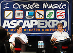 """Steve Miller and moderator Jim Steinblatt at the ASCAP """"I Create Music"""" Expo at the Renaissance Hollywood Hote, April 10th 2008..Photo by Chris Walter/Photofeatures"""