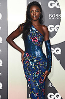 Leomie Anderson<br /> arriving for the GQ Men of the Year Awards 2019 in association with Hugo Boss at the Tate Modern, London<br /> <br /> ©Ash Knotek  D3518 03/09/2019