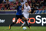Bayern Munich Midfielder Franck Ribery (R) fights for the ball with FC Internazionale Midfielder Geoffrey Kondogbia (L) during the International Champions Cup match between FC Bayern and FC Internazionale at National Stadium on July 27, 2017 in Singapore. Photo by Weixiang Lim / Power Sport Images