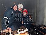 Bernadette Whelan, Ashley and Cillian McCullough at the Shane Whelan day at Naomh Mairtin GFC. Photo:Colin Bell/pressphotos.ie