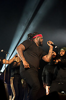 Spring Fest 2017 packs the Remsen Bird Hillside Theater (Greek Bowl) on April 1, 2017 for its headliner T-Pain.<br /> <br /> (Photo by Nick Harrington, Occidental College Class of 2017)