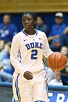 27 October 2013: Duke's Alexis Jones. The Duke University Blue Devils played their annual preseason Blue White women's college basketball game at Cameron Indoor Stadium in Durham, North Carolina.