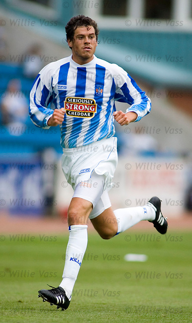 Gordon Greer, Kilmarnock.stock season 2005-2006.pic willie vass