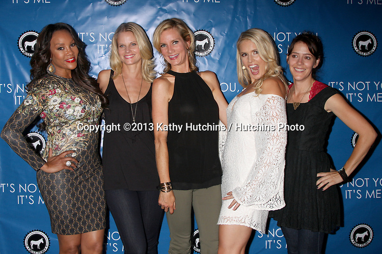"LOS ANGELES - SEP 18:  Vivica A. Fox, Joelle Carter, Beth Littleford, Jessica York, Abby Miller at the ""It;s Not You, It's Me"" Screening at Downtown Independent Theater on September 18, 2013 in Los Angeles, CA"