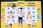 Warren Barguil (FRA) Team Sunweb retains the Polka Dot Jersey at the end of Stage 10 of the 104th edition of the Tour de France 2017, running 178km from Perigueux to Bergerac, France. 11th July 2017.<br /> Picture: ASO/Alex Broadway | Cyclefile<br /> <br /> <br /> All photos usage must carry mandatory copyright credit (&copy; Cyclefile | ASO/Alex Broadway)