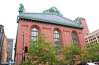Harold Washington Library. Chicago Illinois USA