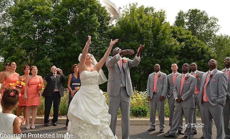Wedding of Yemi & Brittany Cole on July 19, 2014.