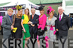Sarah Tobin Tralee Pictured with Minister Jimmy Deenihan and Gay Mitchell at Listowel Races on Friday.