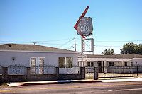 The Sage Motel on Route 66 in Needles California.