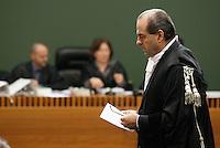 Processo  contro la presunta compravendita dei senatori <br /> nella foto il ritorno in toga di Antonio Di Pietro