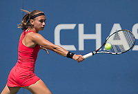 ALEKSANDRA KRUNIC (SRB)<br /> The US Open Tennis Championships 2014 - USTA Billie Jean King National Tennis Centre -  Flushing - New York - USA -   ATP - ITF -WTA  2014  - Grand Slam - USA  30th August 2014. <br /> <br /> &copy; AMN IMAGES