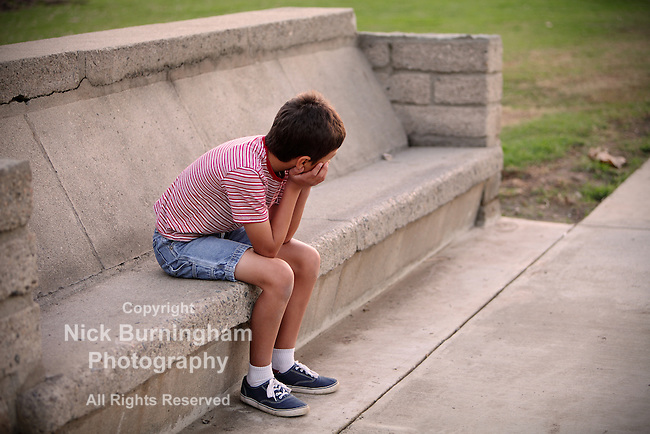 Boy on a bench - EXCLUSIVELY AVAILABLE HERE