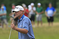 Steve Stricker (USA) walks onto the 5th green during Saturday's Round 3 of the 117th U.S. Open Championship 2017 held at Erin Hills, Erin, Wisconsin, USA. 17th June 2017.<br /> Picture: Eoin Clarke | Golffile<br /> <br /> <br /> All photos usage must carry mandatory copyright credit (&copy; Golffile | Eoin Clarke)