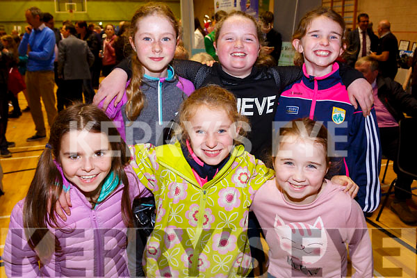 Pictured at the Skellig Coast Enterprise Town organised by the Bank of Ireland on Friday were front l-r; Aoife Hurley, Ciara Quirke, Sorcha O'Sullivan, back l-r; Caoimhe Hurley, Shaunnagh O'Shea & Karen Quirke.