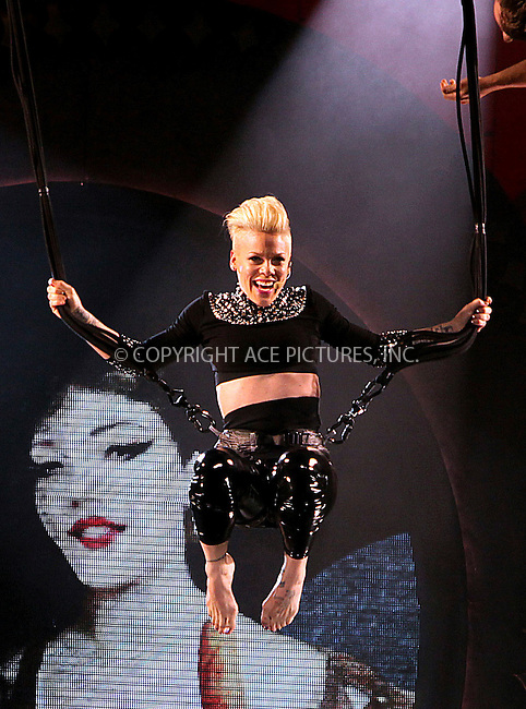 WWW.ACEPIXS.COM....US Sales Only....April 12 2013, Dublin....Pink performing at the 02 Arena on April 12, 2013 in Dublin, Ireland. ....By Line: Famous/ACE Pictures......ACE Pictures, Inc...tel: 646 769 0430..Email: info@acepixs.com..www.acepixs.com