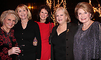 NWA Democrat-Gazette/CARIN SCHOPPMEYER NWA Democrat-Gazette/CARIN SCHOPPMEYER Carol Clifford (from left), Debbie Evans, Cynthia Coughlin, Terrye Brosh and Mary Storey gather at the Symphony of Northwest Arkansas Spring Gala on March 5 at Mermaids Seafood Restaurant in Fayetteville.