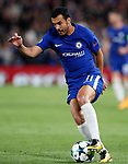 Chelsea's Pedro in action during the champions league match at Stamford Bridge Stadium, London. Picture date 12th September 2017. Picture credit should read: David Klein/Sportimage