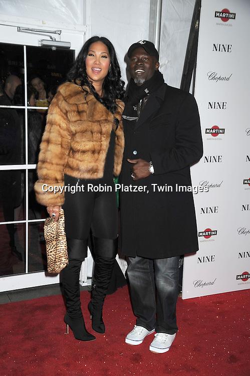 Kimora Lee and husband Djimon Hounsou