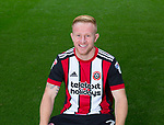 Mark Duffy of Sheffield Utd during the 2017/18 Photocall at Bramall Lane Stadium, Sheffield. Picture date 7th September 2017. Picture credit should read: Sportimage