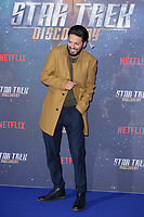 Shazad Latif at the special fan screening for &quot;Star Trek Discovery&quot; at Millbank Tower, London, UK. <br /> 05 November  2017<br /> Picture: Steve Vas/Featureflash/SilverHub 0208 004 5359 sales@silverhubmedia.com
