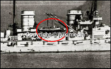 BNPS.co.uk (01202 558833)<br /> Pic: KevinKilkenny/BNPS<br /> <br /> Count Dracula on the SMS Hindenberg before its scuttling in Scapa Flow at the end of WW1.<br /> <br /> Back from the dead - Count Dracula, the Dunkirk little ship that refuses to die.<br /> <br /> A boat yard owner is helping to restore the German-built 'little ship' which rescued his father and 711 other men from Dunkirk.<br /> <br /> David Wilson is one of the men painstakingly restoring the Count Dracula which carried his father Sergeant William Wilson and his fellow engineers home during Operation Dynamo. <br /> <br /> Sgt Norman was left behind with a group of engineers to blow up a bridge then they made their way along the coast looking for a means to escape.<br /> <br /> They found this boat with the crew washed up on a mud bank and the mechanic with them managed to jury rig the gear box to allow them to set off.<br /> <br /> The 50ft long ship had a remarkable existence even prior to Dunkirk as it was built for the German navy in 1913.