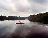 PANAMA, Panama City, Paddling the River of Gold in the Darien Jungle, the Chagres River, Central America