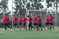 USMNT Training, January 23, 2017
