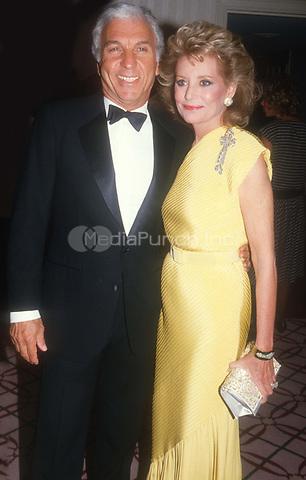 #MarvAdelson #BarbaraWalters 1982<br /> Photo by John Barrett/PHOTOlink.net / MediaPunch