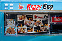 Krazy, BBQ, Gourmet Food Truck, Mid Wilshire, Los Angeles CA. Miracle Mile district.