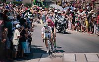 Taylor Phinney (USA/Cannondale-Drapac)<br /> <br /> Stage 6: Brest > Mûr de Bretagne / Guerlédan (181km)<br /> <br /> 105th Tour de France 2018<br /> ©kramon