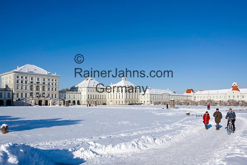 Deutschland, Bayern, Muenchen: Schloss Nymphenburg   Germany, Bavaria, Munich: Castle Nymphenburg