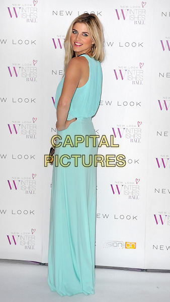 LONDON, ENGLAND - NOVEMBER 06: Ashley James at the New Look Winter Wishes Ball, Battersea Evolution, Battersea Park on November 6th, 2013 in London, England, UK.<br /> CAP/PP/GM<br /> &copy;Gary Mitchell/PP/Capital Pictures