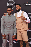 LOS ANGELES, USA. July 10, 2019: Usher & Odell Beckham Jr at the 2019 ESPY Awards at the Microsoft Theatre LA Live.<br /> Picture: Paul Smith/Featureflash