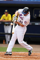 March 21, 2010:  Daniel Murphy (28) of the New York Mets during a Spring Training game at Tradition Field in St. Lucie, FL.  Photo By Mike Janes/Four Seam Images