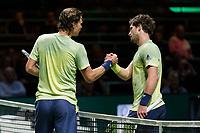 Rotterdam, Netherlands, 12 Februari, 2018, Ahoy, Tennis, ABNAMROWTT, Tomas Berdych (CZE), Mischa Zverev (GER)<br /> Photo:tennisimages.com