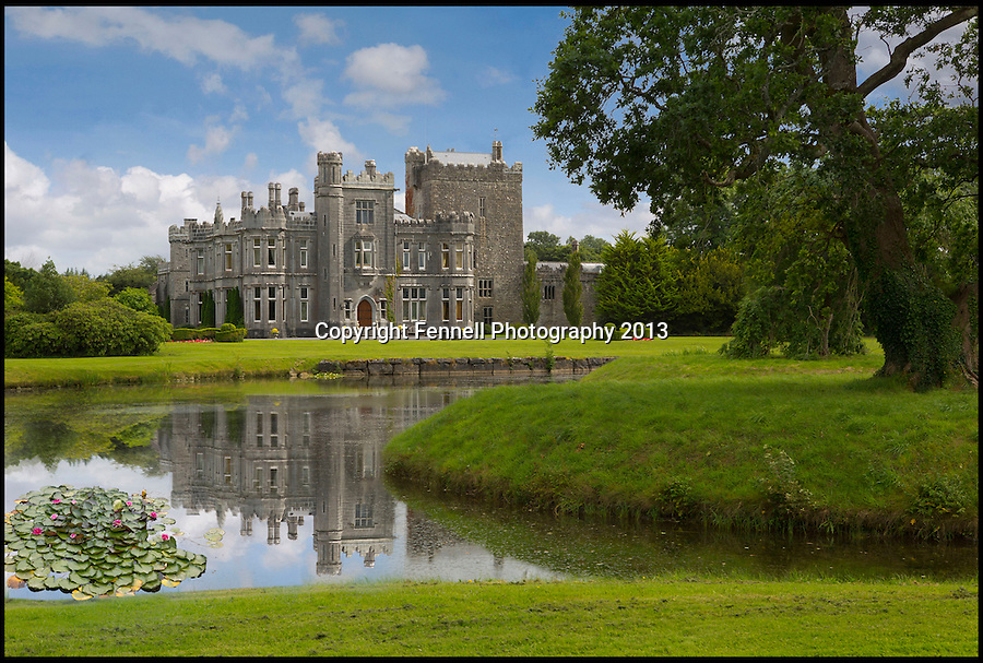 BNPS.co.uk (01202) 558833<br /> Picture: FennellPhotography/BNPS<br /> <br /> ****Please use full byline****<br /> <br /> Yours for £5.5 million - A Downton Abbey of your own...<br /> <br /> Lover's of the hit tv series now have the chance to buy into the lifestyle of the Grantham's, after this very similar looking property has come on the market in the heart of Ireland.<br /> <br /> Stunning Tulira Castle, Co Galway, dates back to the medieval times has emerged for sale for £5.5 million.<br /> <br /> The enormous castle sits in 250 acres of rolling countryside in the village of Ardrahan in County Galway, Ireland and is so idyllic it has been home to the same family for the last two decades.<br /> <br /> It is currently owned by Ruud and Femmy Bolmeijer who are looking to downsize.
