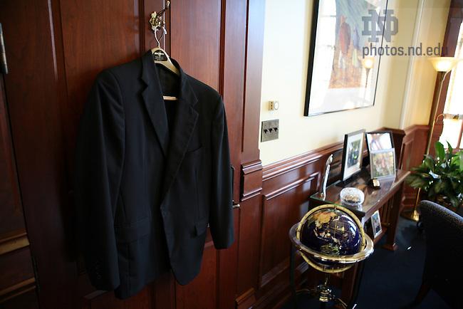 Fr. Jenkins' office