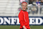11 April 2009: Washington's Becky Sauerbrunn. The Washington Freedom played the Chicago Red Stars to a 1-1 tie at the Maryland SoccerPlex in Boyds, Maryland in a regular season Women's Professional Soccer game.